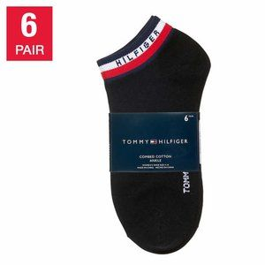 Tommy Hilfiger Ladies' Ankle Sock, 6 pair